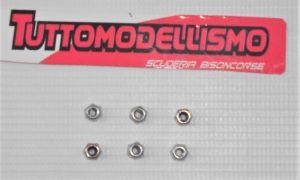 Dadi 2,5 mm ammortizzatori - Carrara Z9