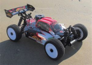 Buggy  RTR 1:8 Accel nitro -