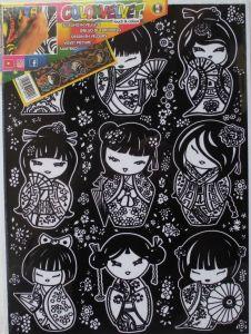 Bamboline Giapponesi - Colorvelvet