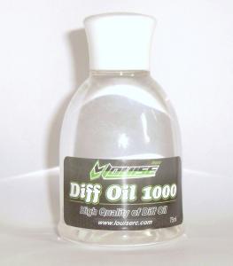 Olio siliconico Louise 1000 per differenziali