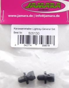Colonnine carrozzeria Jamara General/Lightgray 1:10 EP