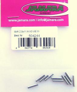 Pins acciaio Hong-Nor X3 Jamara