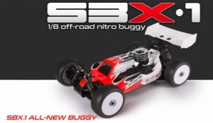SBX-1 Competition 1:8 nitro Buggy - WRC